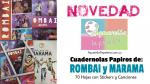 Cuadernolas Papiros de Rombai y Marama con Stickers y Canciones