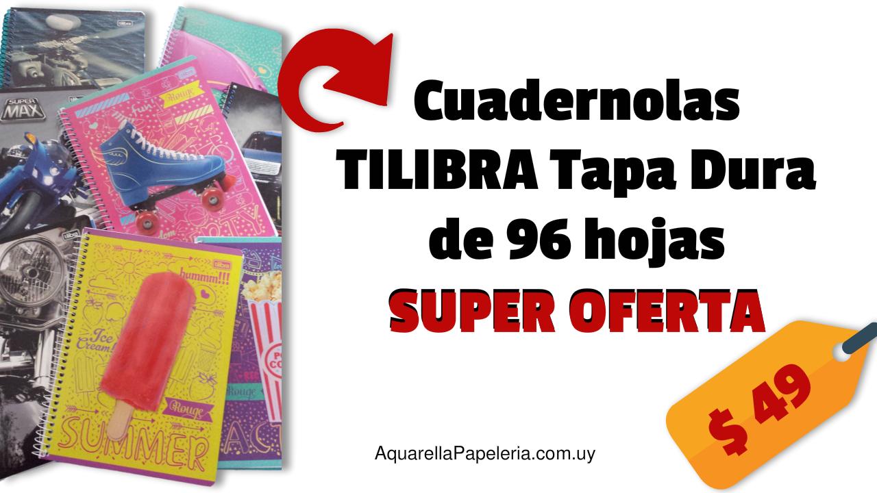 Cuadernolas TILIBRA Tapa Dura 96 hojas