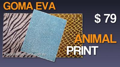 Goma Eva Animal Print