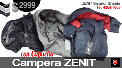 Campera Zenit con Capucha