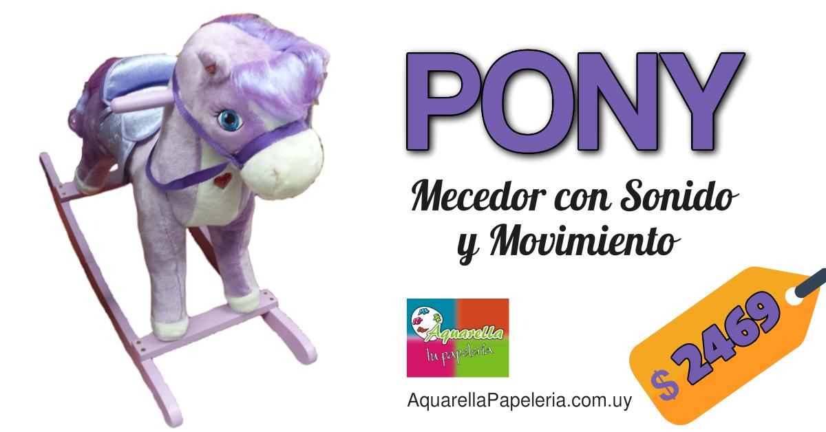 Pony Mecedor con Sonido y Movimiento