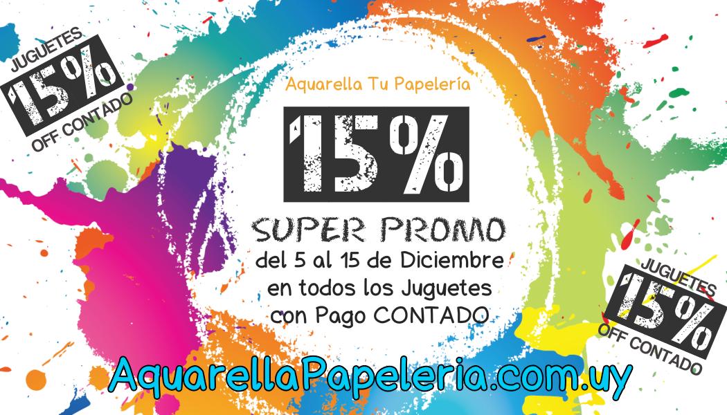 Super Promo Aquarella Tu Papeleria