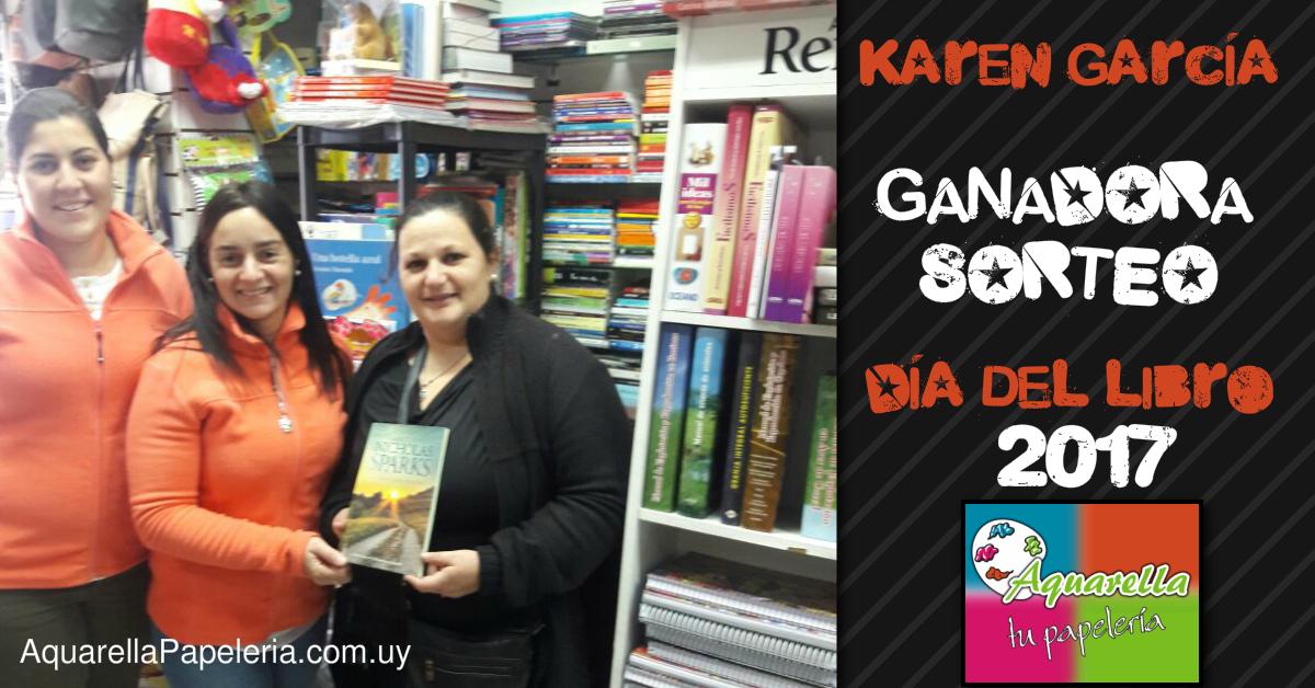 Ganadora Sorteo Día del Libro 2017 Karen García