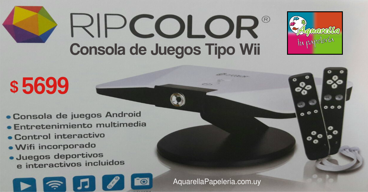 Consola Juegos Android Tipo Wii
