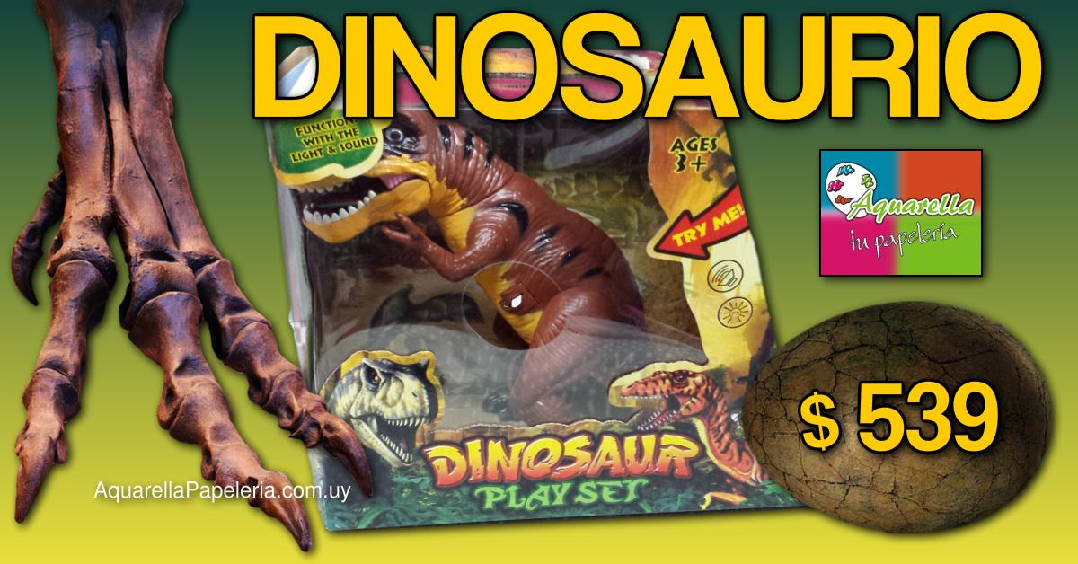 Dinosaurio con Luces y Sonido