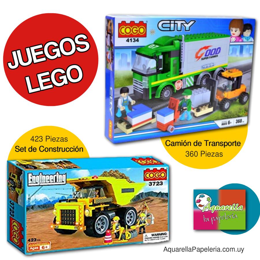 Aquarella Papeleria Juegos Lego Para Armar