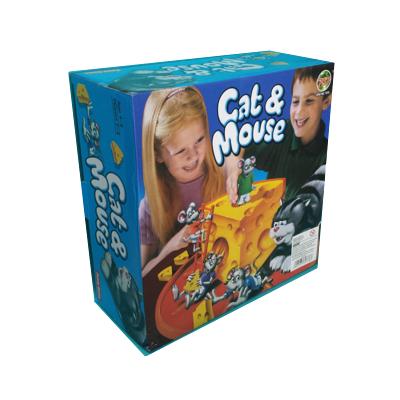 Juego de Mesa Gato y Ratón