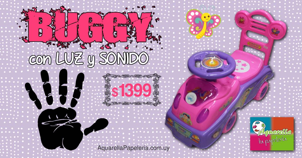 Buggy con Luz y Sonido