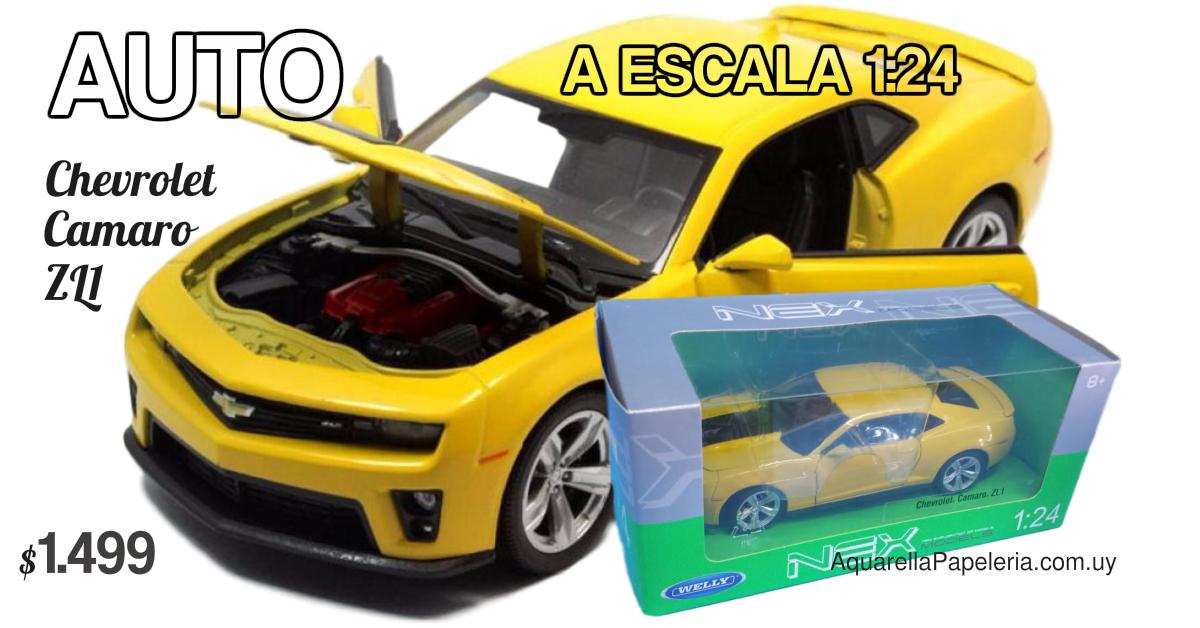 Auto Chevrolet Camaro ZL1 a Escala 1:24