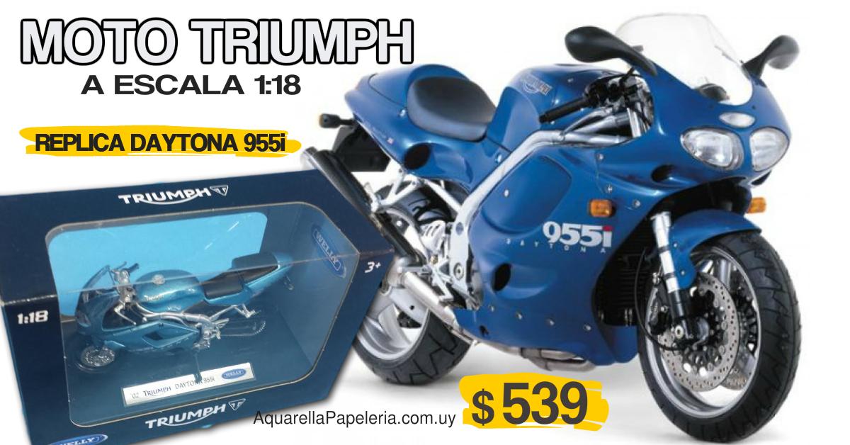 Moto a Escala Triumph Daytona 955i