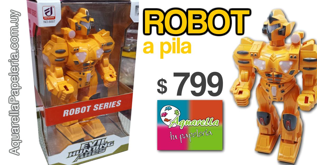 Robot a pila